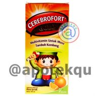 Cerebrofort Gold Jeruk 100 ml