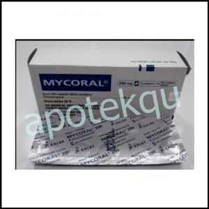 MYCORAL 200MG TABLET