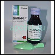 NORAGES SYR 60 ML 250MG/5ML