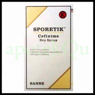 SPORETIK 30ML D.SYR 100MG/ML
