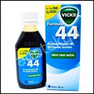 VICKS FORMULA 44 DWS SYR 100ML