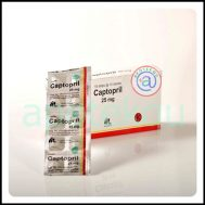 Captopril 25 mg Tab