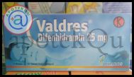 VALDRES 25MG TAB 30S
