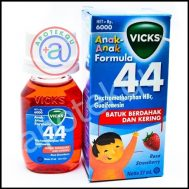 VICKS FORMULA 44 ANAK STRAWBERRY SYR 27ML