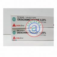 desoximethasone cream 0,25% 5 gr